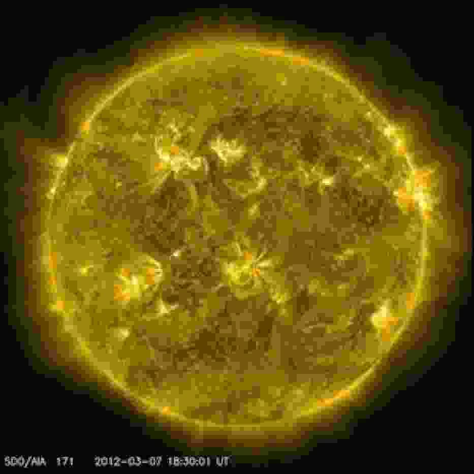 Erupcja na Słońcu