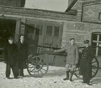 Historia straży pożarnej w powiecie goleniowskim na unikatowych zdjęciach [GALERIA]