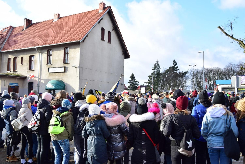 Powitanie gen. Józefa Hallera w Pucku 10.02.2020