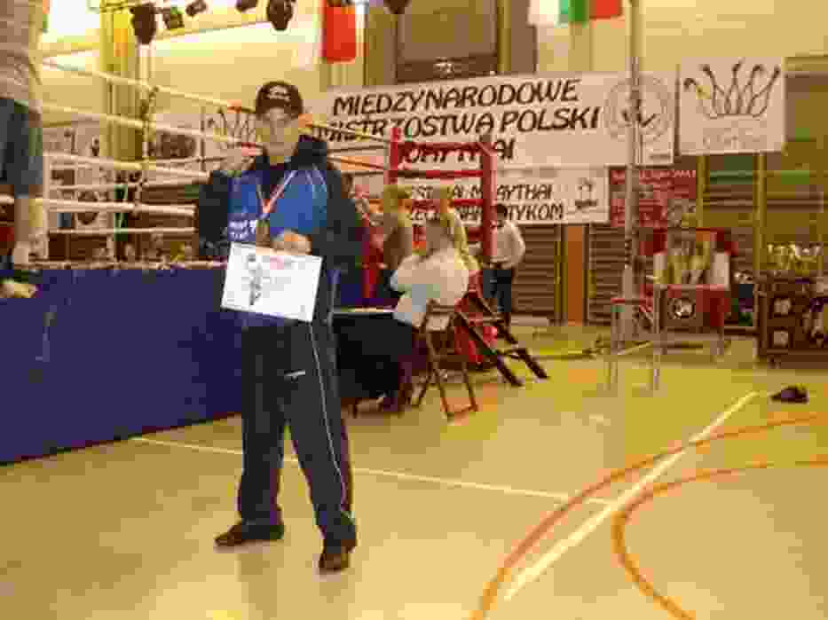 W finale rybniczanin Łukasz Kubiak zmierzył się z Piotrem Uznańskim, zawodnikiem Maximus Fight Club Nowa Huta