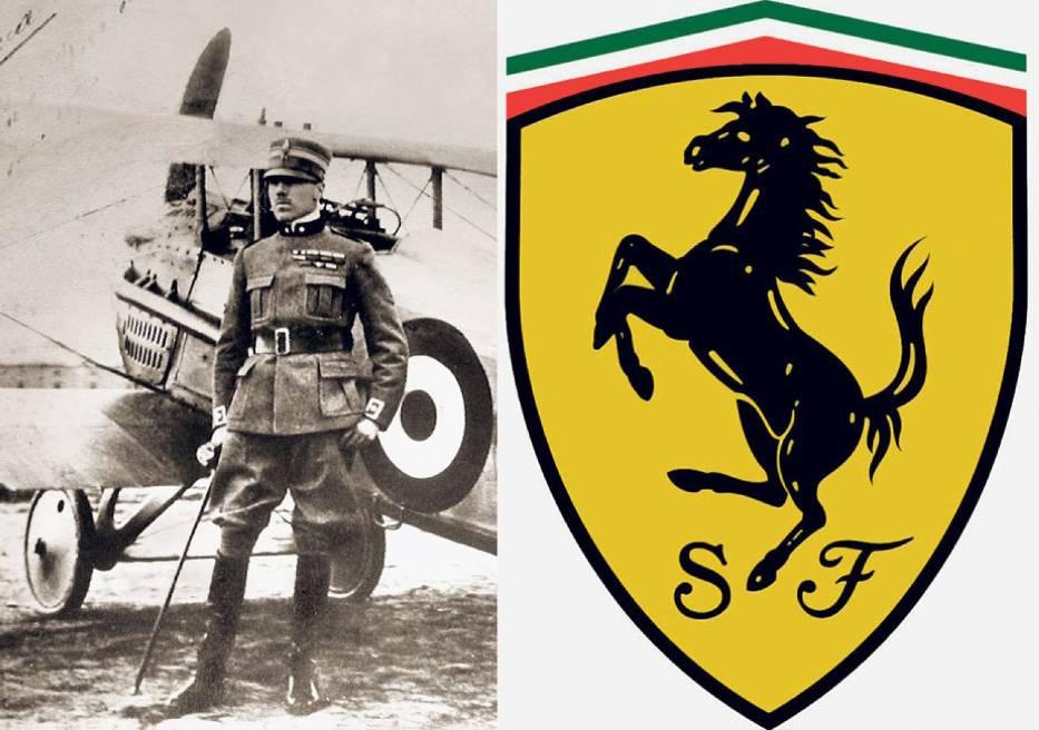 Ferrari Czasem logo miało wyjątkowe znaczenie dla założyciela firmy