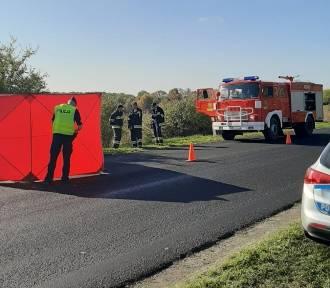 Śmiertelny wypadek niedaleko Nakła. Zginął motocyklista