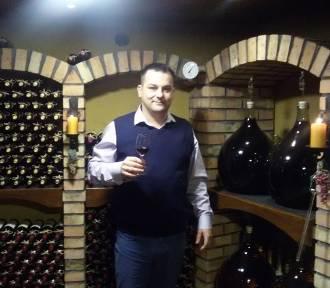 Rozmowa z Lucjanem Uszokiem, winiarzem