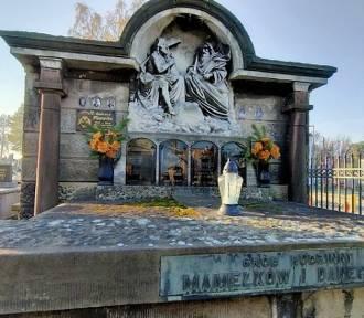 Cmentarz przy ul. 11 Listopada. Spoczywają tu żołnierze, księża, samorządowcy