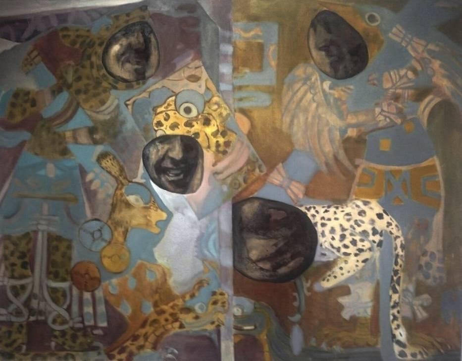 """W Galerii Promocyjnej Centrum Sztuki Współczesnej """"Solvay"""" trwa wystawa malarstwa Alicji Klimek zatytułowana """"Monidło"""""""