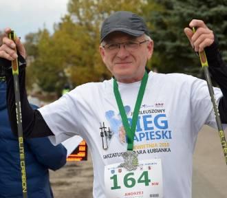 Trudny Półmaraton św. Huberta w Starej Łubiance [ZDJĘCIA]