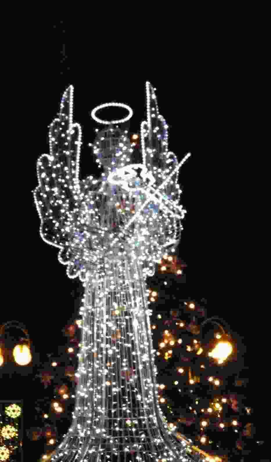 Anioł na placu Biegańskiego