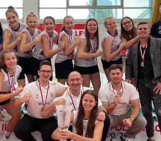 Młodziczki Energa MKS Kalisz z medalem młodzieżowych mistrzostw Polski