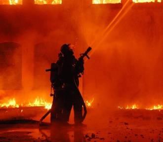 O tym pożarze w Gorzowie mówiła cała Polska. Ogień zagrażał strażakom i mieszkańcom