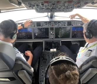 Lecieliśmy na pokładzie nowego samolotu Airbus A220 Air Baltic [FOTOGALERIA, WIDEO]