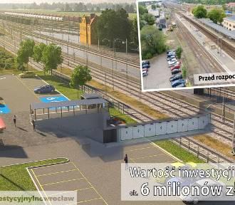 Wkrótce ruszy budowa tunelu przy dworcu PKP w Inowrocławiu [zdjęcia]