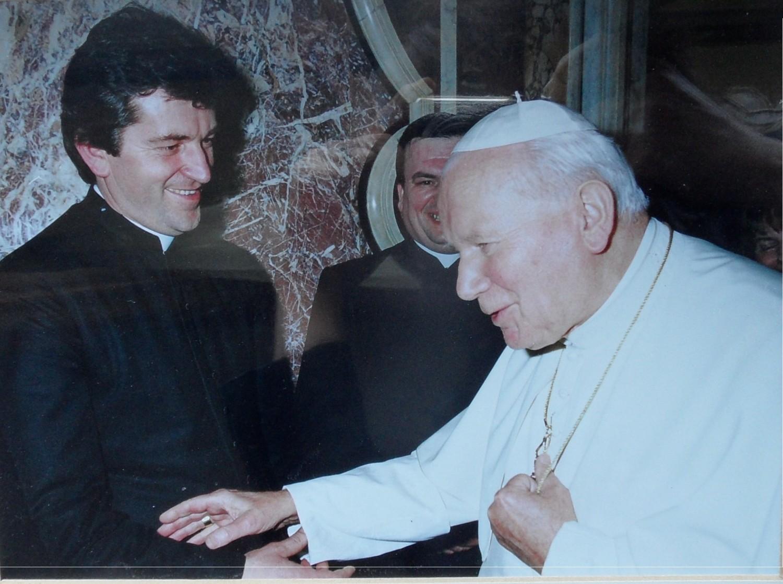 Spotkali się z Janem Pawłem II