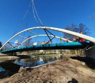 Nowy most w Pile, czyli jak powstała kładka na Wyspie! [ZDJĘCIA]