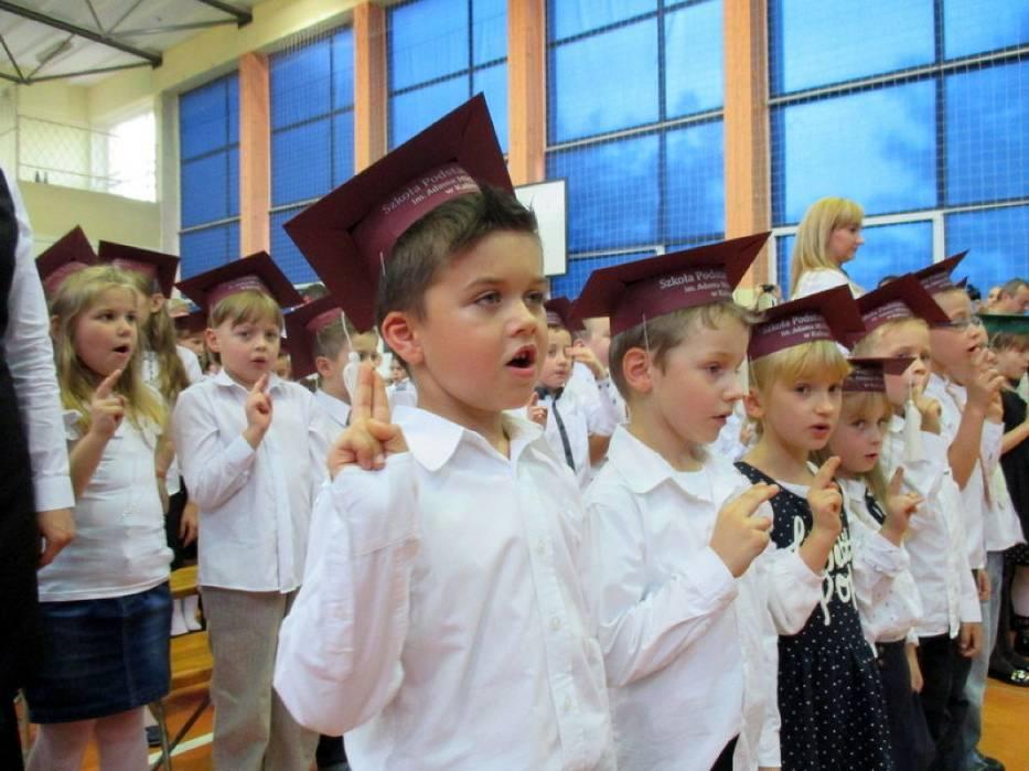 Pasowanie uczniów w Szkole Podstawowej nr 7 w Kaliszu
