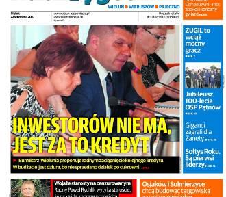 Najnowsze wydanie Naszego Tygodnika Wieluń-Wieruszów-Pajęczno już dzisiaj wraz z Dziennikiem