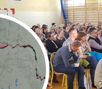 Szkoła grozi zawaleniem! 200 uczniów musi ją opuścić
