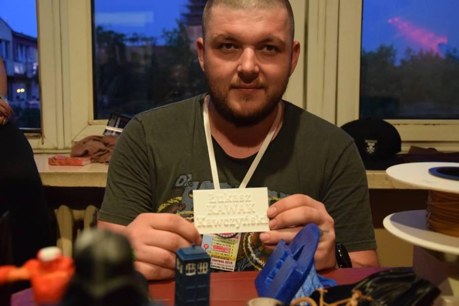 """Łukasz """"Kawak"""" Kawczyński to 33-letni gorzowianin"""