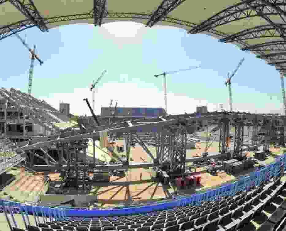 Prace nad modernizacją stadionu, mimo problemów, zostaną ukończone w 2010 roku
