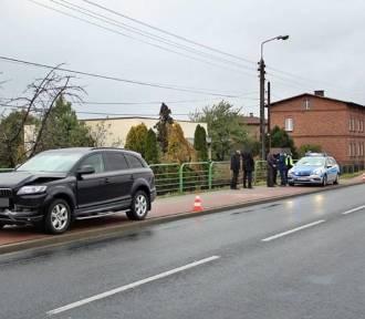 Wypadek Beaty Szydło w Imielinie ZDJĘCIA BMW z wicepremier Szydło zderzył się z audi, gdy kolumna