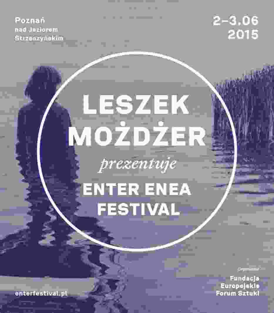 Plakat Enter Music Festival 2015