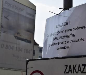 Znika parking przy Młyńskiej ZDJĘCIA Rusza budowa hotelu Mercure Katowice City Center WIZUALIZACJE