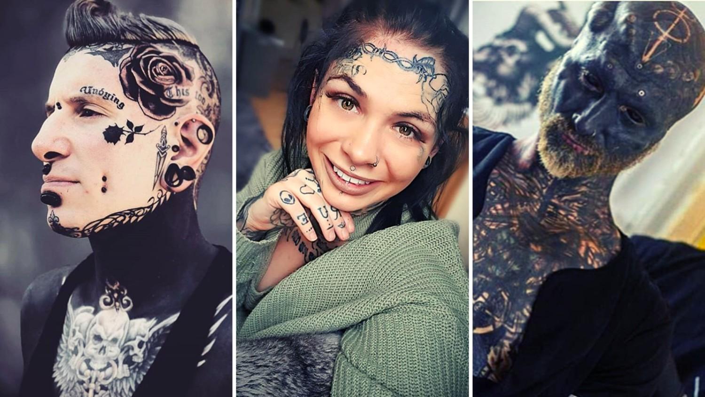 Tatuaże na twarzy wciąż szokują