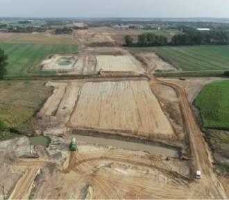 Trwa budowa fragmentu drogi S11 w Wielkopolsce. Zobacz zdjęcia!
