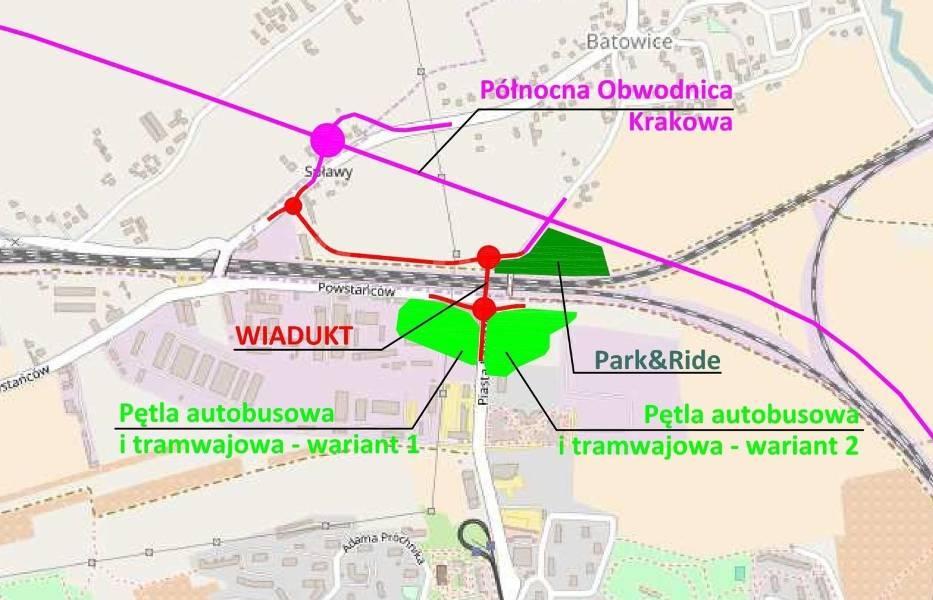 Szczegóły planowanego wiaduktu