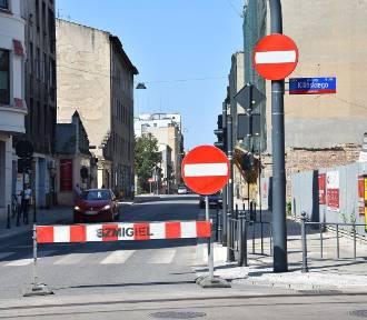 Remont ul. Tuwima i Nawrot w Łodzi. Zmiana organizacji ruchu [MAPY]