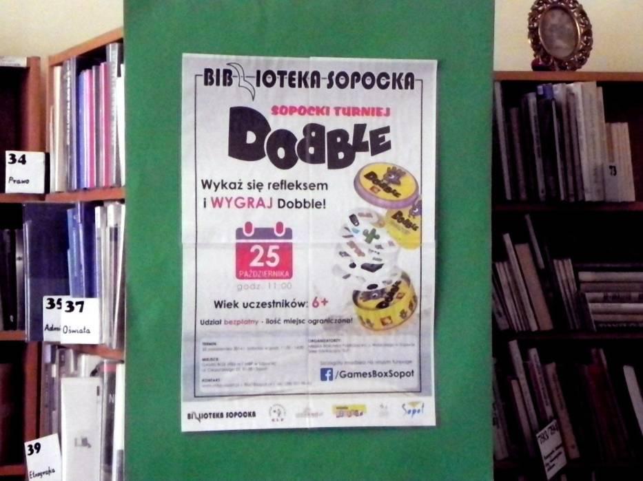 Turniej w popularną grę w ramach Games Box [Twoje Pole Gry w Sopocie-Brodwinie] wspólnymi siłami zorganizowała Filia nr 7 Miejskiej Biblioteki Publicznej oraz sklep edukacyjny ELF