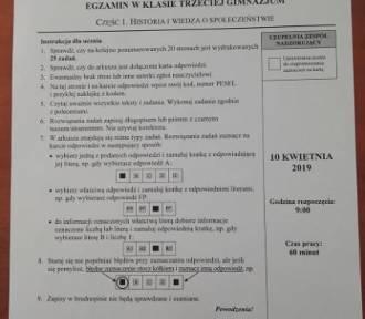 Egzamin gimnazjalny 2019: Historia i WOS ODPOWIEDZI, ARKUSZ CKE