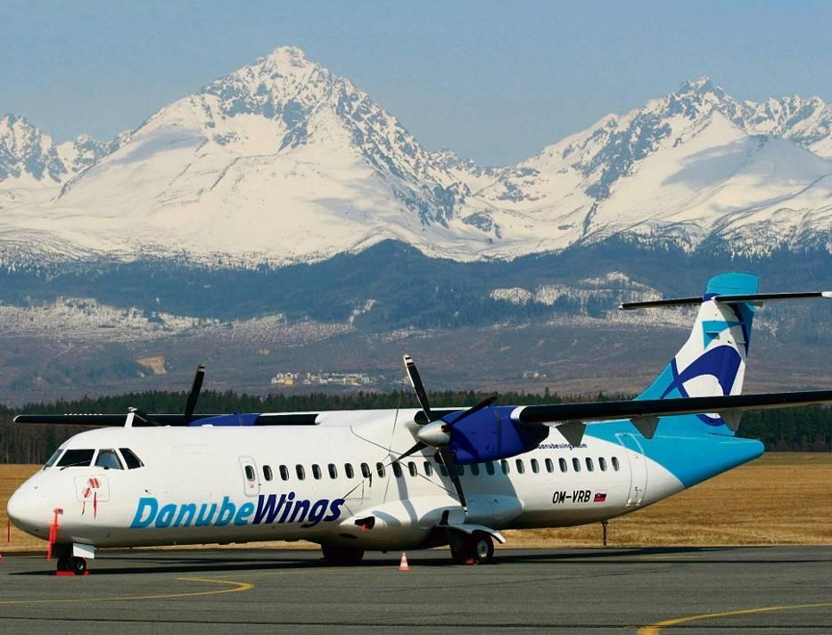 Połączenia lotnicze do Popradu cieszyły się przez całą zimę ogromnym zainteresowaniem