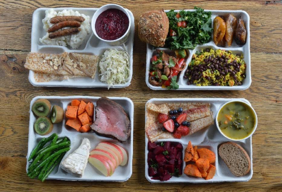 Świeże, kolorowe, smaczne i zdrowe - tak wyglądają posiłki w szkolnych stołówkach w wielu krajach