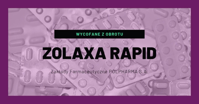 Zolaxa Rapid (Ofanzapinum), 5mg, tabletki ulegające rozpadowi w jamie ustnej, 28 tabl