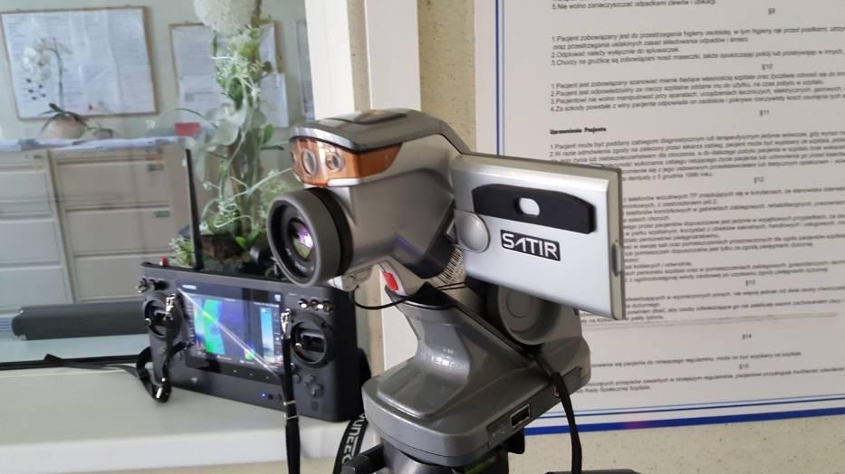 Gliwice: mierzą pacjentom temperaturę kamerą termowizyjną