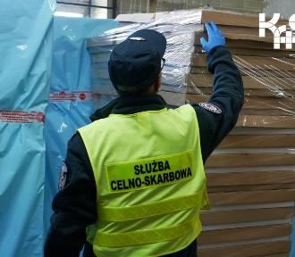 Śląska Krajowa Administracja Skarbowa przejęła 1,9 miliona nielegalnych papierosów