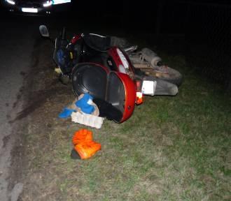 Potrącenie w Jastrzębiu: na drogę  wtargnął pijany mieszkaniec Skrzyszowa, uderzył w niego motocyklista