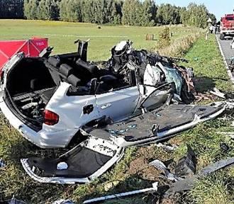 Gm. Darłowo: Śmierć nauczycielki...  [zdjęcia 18+] - jest wstępny wynik badania krwi kierowcy