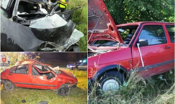 Wypadki w województwie lubelskim w minionym tygodniu [ZDJĘCIA]