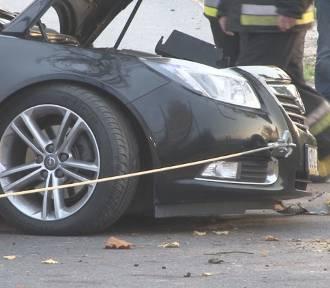 Groźny wypadek drogowy w Folwarku - policjanci apelują o zachowanie ostrożności za kierownicą!