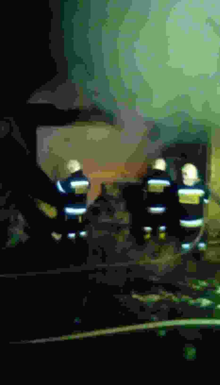 Zgierzynka: Pożar tartaku