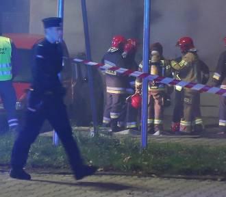 1 osoba nie żyje, 9 jest rannych po pożarze na Dworcu Świebodzkim