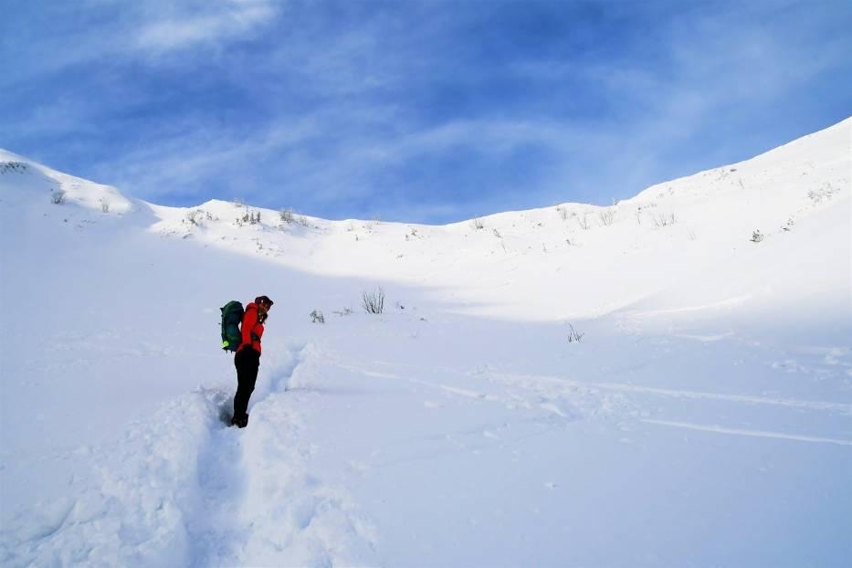 Zimowa wycieczka na Giewont