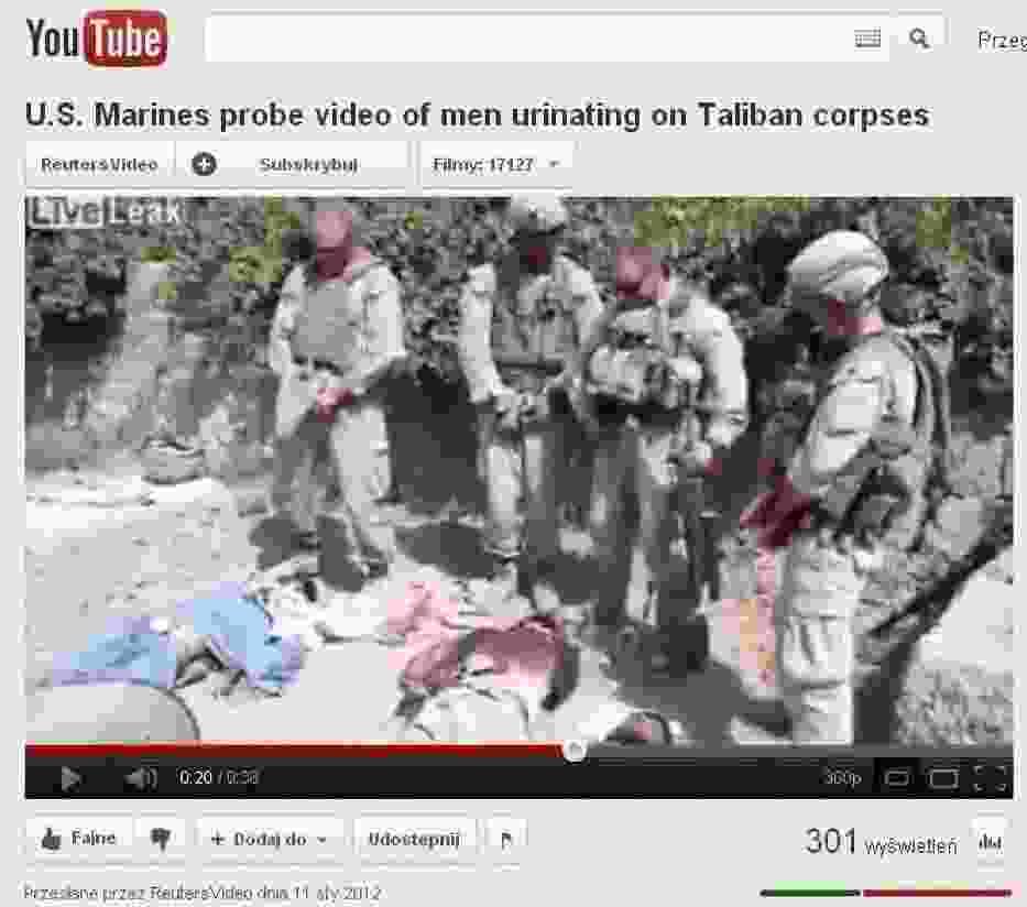 Kadr z filmu na Youtube