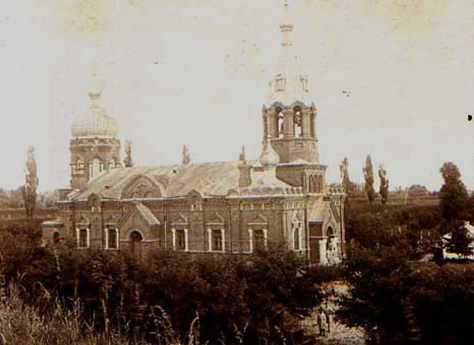 Cerkiew w Kazuniu Nowym w czasach świetności
