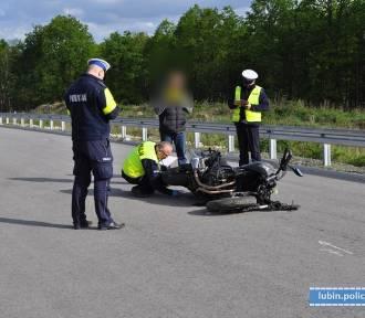 Śmiertelny wypadek na S3. Motocyklistę zauważyli inni kierowcy