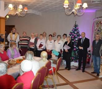 Świąteczny poczęstunek z rodziną Dębców i władzami miasta (FOTO)