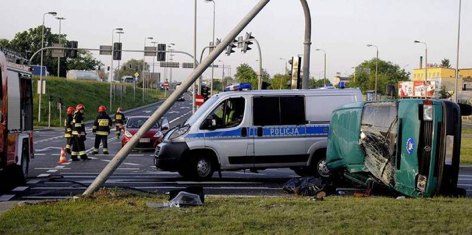 Wypadek na Rondzie Inowrocławskim