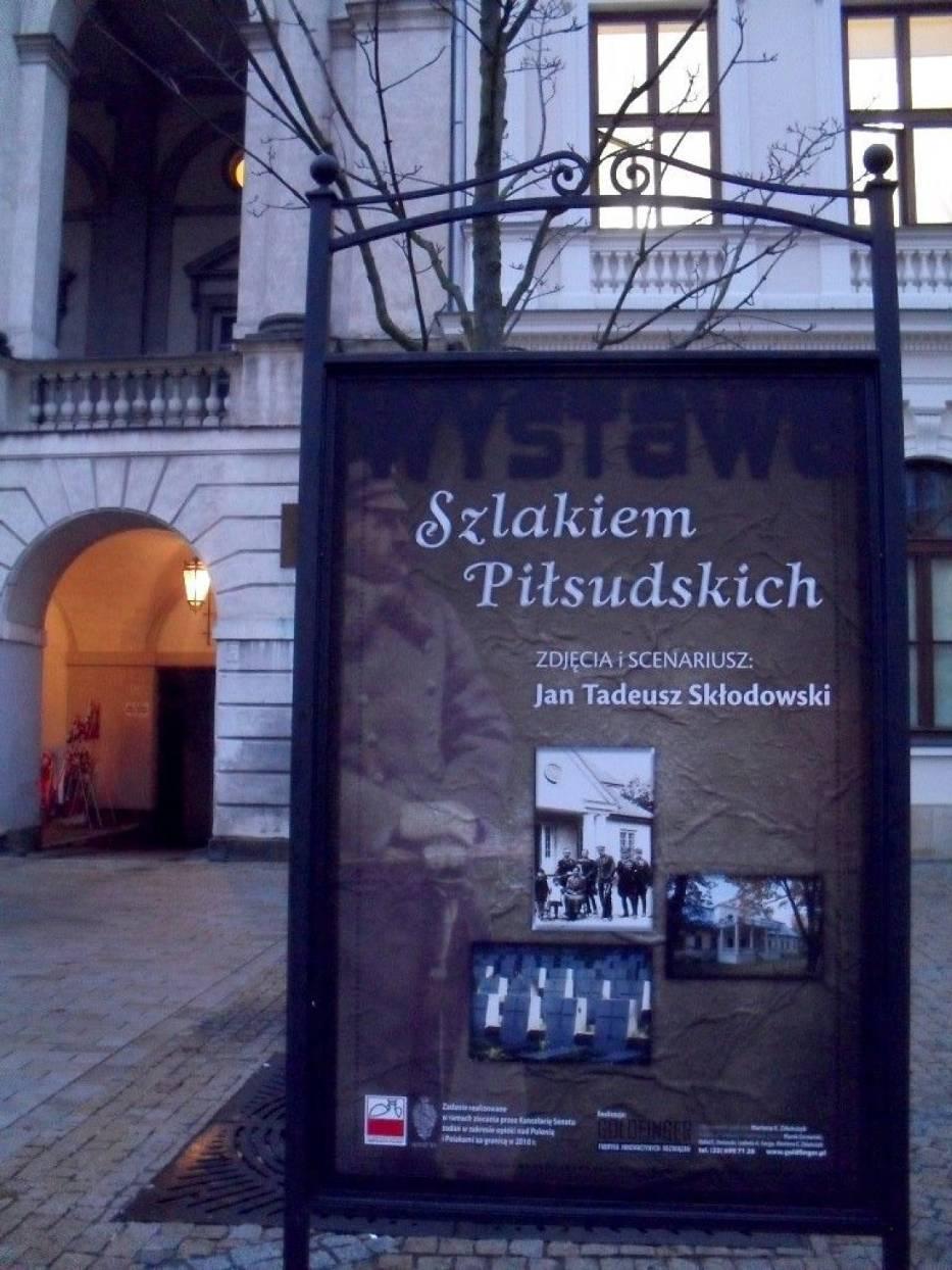 """Wystawa """"Śladami Piłsudskich"""""""