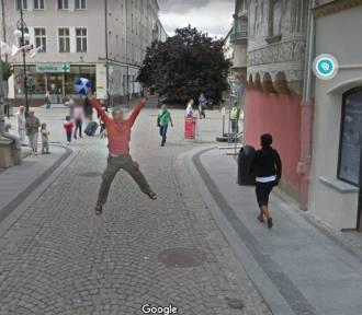 Perełki z kamer Google Street View na Dolnym Śląsku. Oto najdziwniejsze zdjęcia